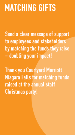matching gifts - send a clear message of support to employees and stakeholders by matching the funds they raise