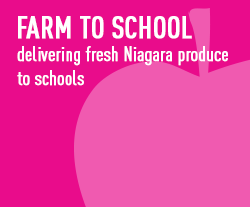 farm to school - delivering fresh Niagara produce to schools